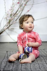 babies uv suit