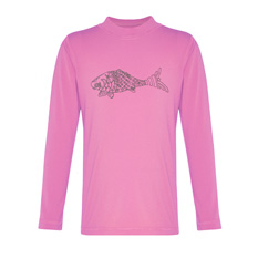 long sleeved pink rashie