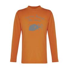 long sleeved rashie in orange