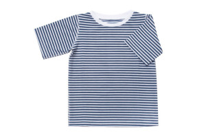 kids navy striped rashie