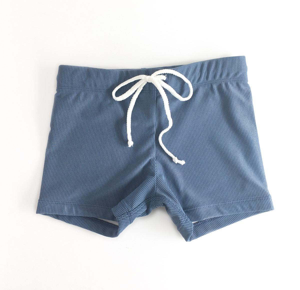 f8afef63feaf0 Big Boys Swimming Trunks in Blue Marle (6-12yr) - The Bathers ...