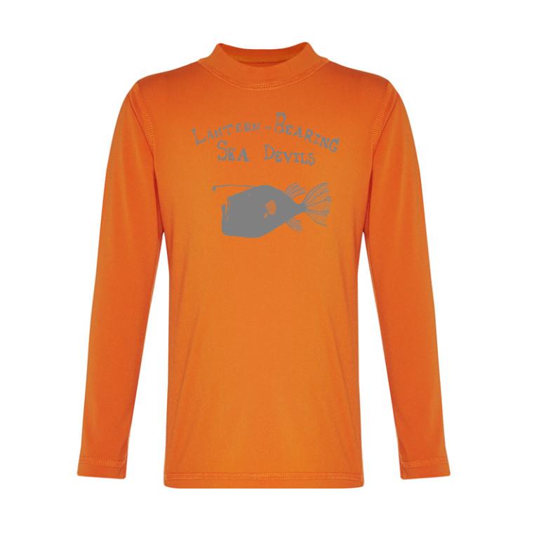 long sleeved rashie orange